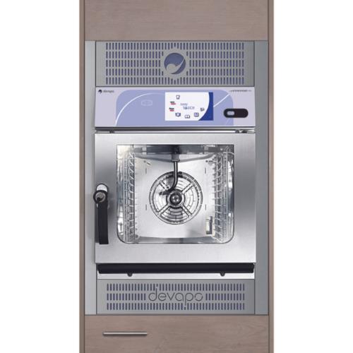devapo careconceptLine inbouw combi-steamer mini 10.10